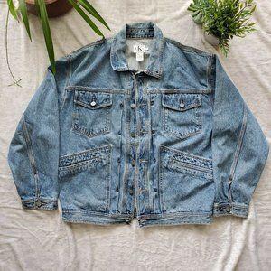 Vintage Calvin Klein Jeans Denim Trucker Jacket